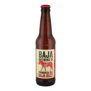 Cerveza artesanal mexicana Baja Brewing Baja Razz