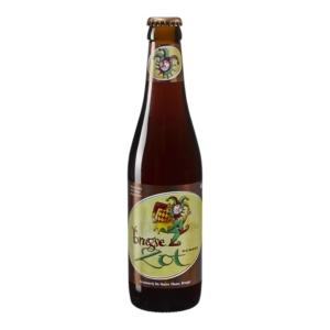 Cerveza importada de Bélgica De Halve Maan Brugse Zot Dubbel