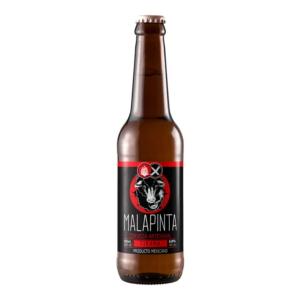 Cerveza artesanal mexicana Malapinta Tirana
