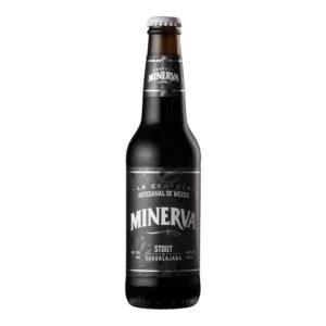 Cerveza artesanal mexicana Minerva Stout