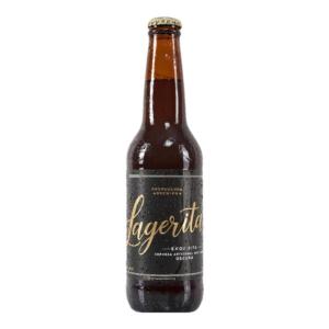 Cerveza artesanal mexicana Propaganda Lagerita Oscura