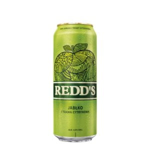 Cerveza Redd's Manzana Lata