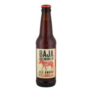 Cerveza Baja Brewing Pelirroja